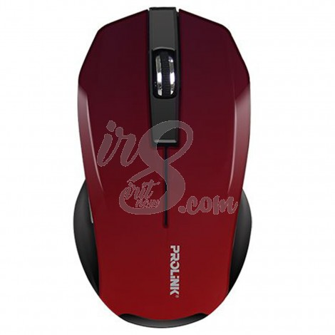 MOUSE WIRELESS PROLINK 6001 RED