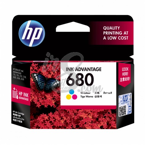 CARTRIDGE HP-680 COLOUR