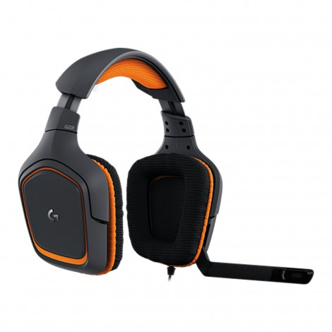 HEAD SET LOGITECH G 231 PRODIGY GAMING BLACK