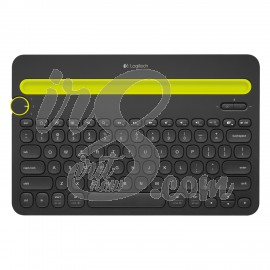 BLUETOOTH MULTI-DEVICE KEYBOARD LOGITECH K480 BLACK