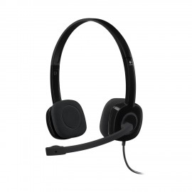 HEAD SET LOGITECH H 151 BLACK