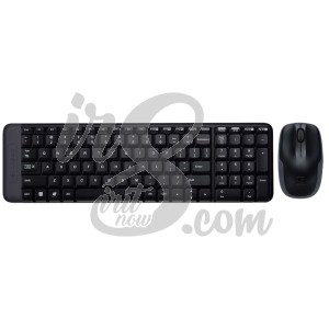 KEYBOARD WIRELESS LOGITECH MK 220 + MOUSE