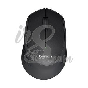 MOUSE WIRELESS LOGITECH M331 SILENT PLUS BLACK