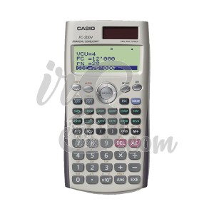 KALKULATOR FINANCIAL CASIO FC 200 V