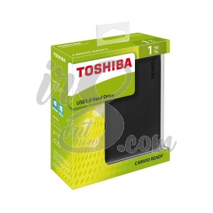 HARD DISK EKSTERNAL TOSHIBA CANVIO READY BLACK 1TB