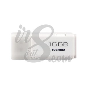 FLASH DRIVE TOSHIBA HAYABUSA WHITE 16GB
