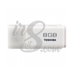 FLASH DRIVE TOSHIBA HAYABUSA WHITE 8GB