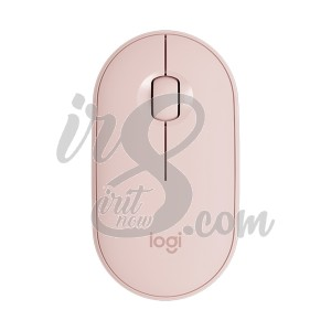 MOUSE WIRELESS LOGITECH PEBBLE M350 ROSE PINK