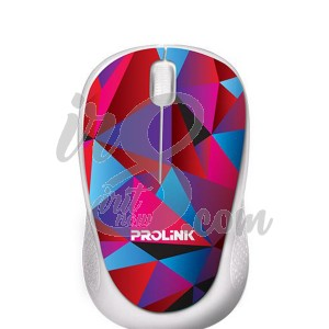 MOUSE USB PROLINK PMC 1005 CRYSTAL PETAL