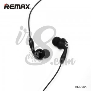 EARPHONE REMAX RM505 BLACK