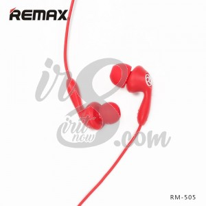 EARPHONE REMAX RM505 RED