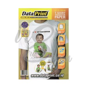 T-SHIRT TRANSFER PAPER DATA PRINT 120GR A4