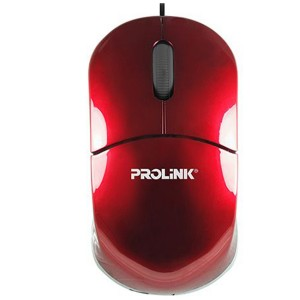MOUSE USB PROLINK PMC 1001 RED