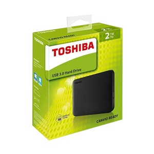HARD DISK EKSTERNAL TOSHIBA CANVIO READY BLACK 2TB
