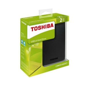 HARD DISK EKSTERNAL TOSHIBA CANVIO BASIC BLACK 2TB