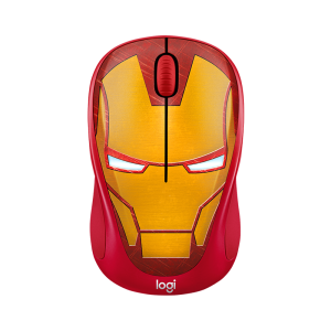 MOUSE WIRELESS LOGITECH M238 MARVEL SERIES IRONMAN