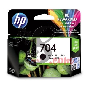 CARTRIDGE HP-704 BLACK