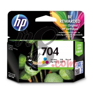 CARTRIDGE HP-704 COLOUR
