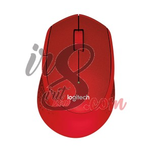 MOUSE WIRELESS LOGITECH M331 SILENT PLUS RED