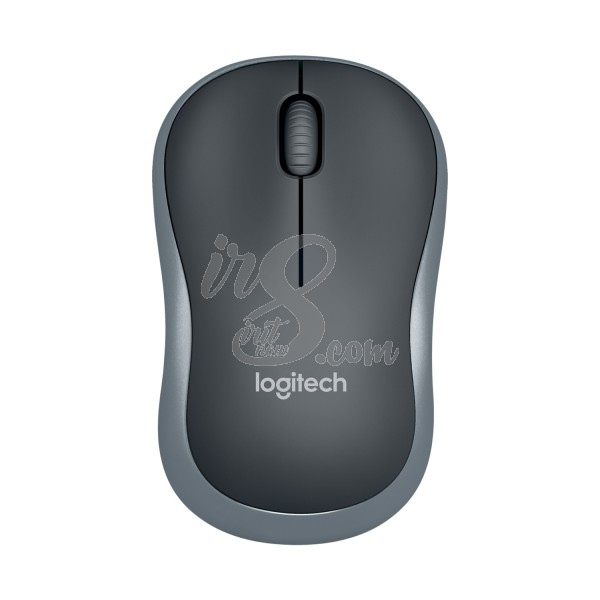 MOUSE WIRELESS LOGITECH M185 GREY