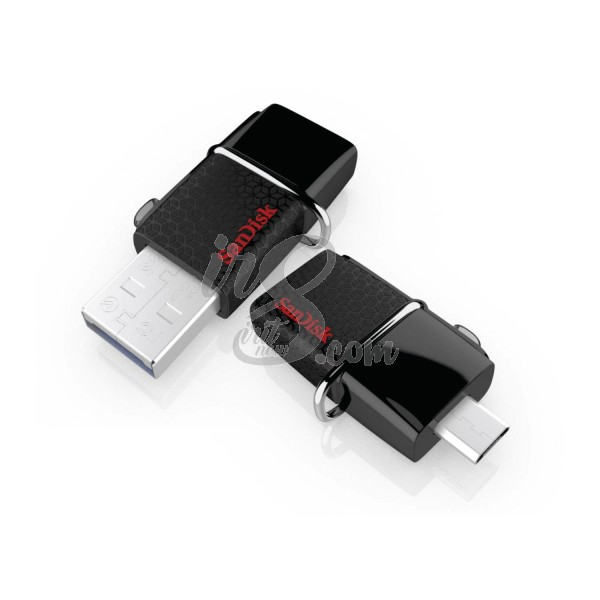 FLASH DRIVE SANDISK 64 GB DUAL DRIVE 3.0 BLACK