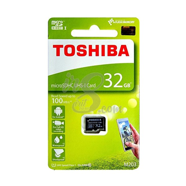 MEMORY CARD TOSHIBA MICRO SD 32GB 100 MBPS CLASS 10