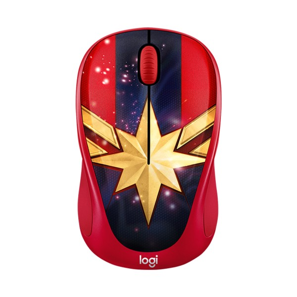 MOUSE WIRELESS LOGITECH M238 MARVEL SERIES CAPTAIN MARVEL