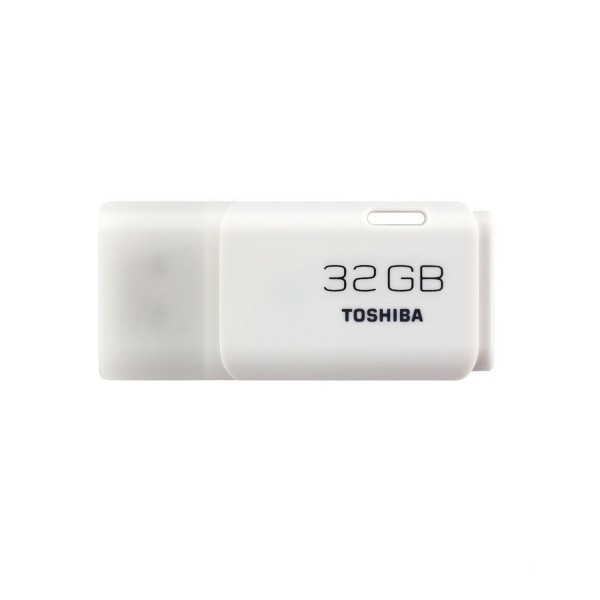 FLASH DRIVE TOSHIBA HAYABUSA WHITE 32GB