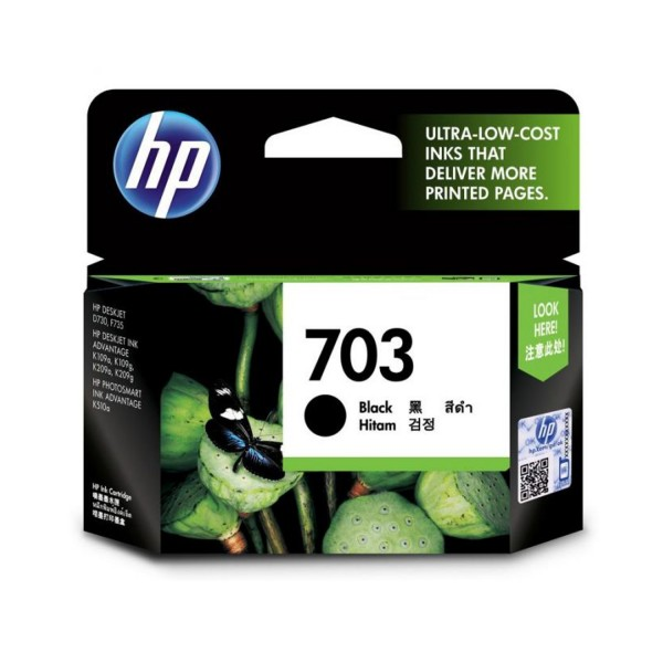 CARTRIDGE HP-703 BLACK