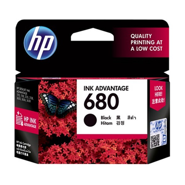 CARTRIDGE HP-680 BLACK