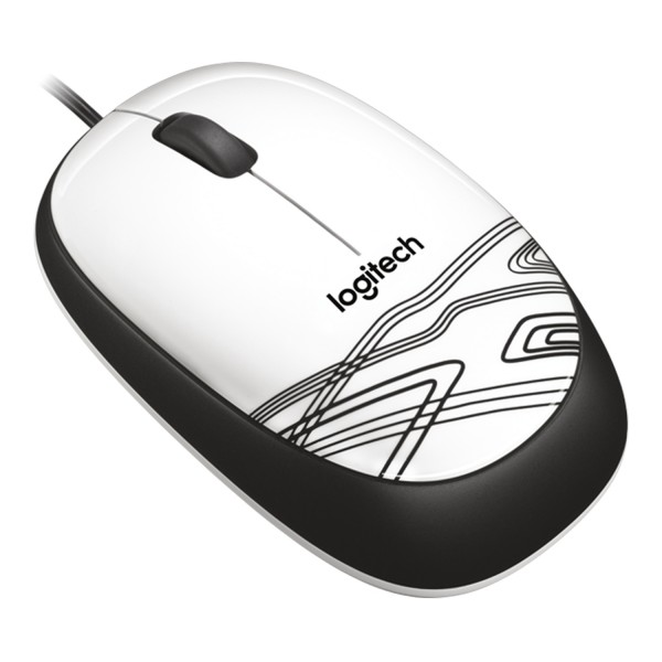 MOUSE USB LOGITECH M105 WHITE